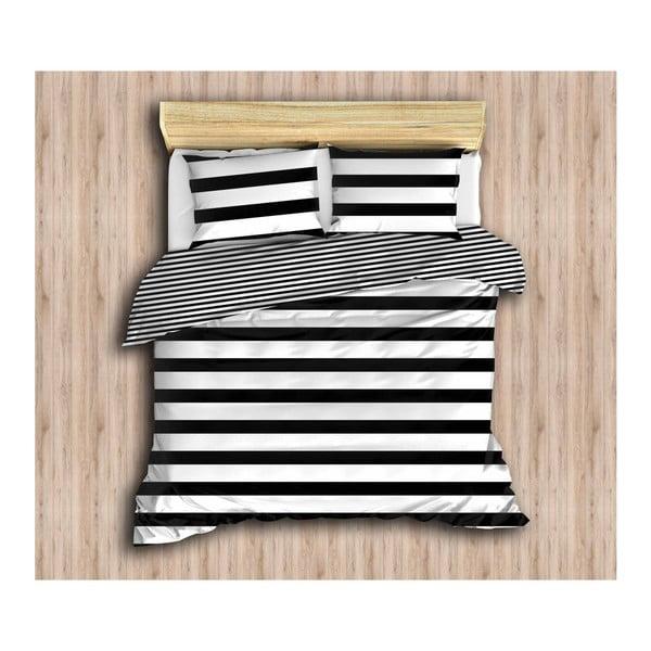 Lenjerie de pat cu cearșaf și 2 fețe de pernă Patricia, 200 x 220 cm