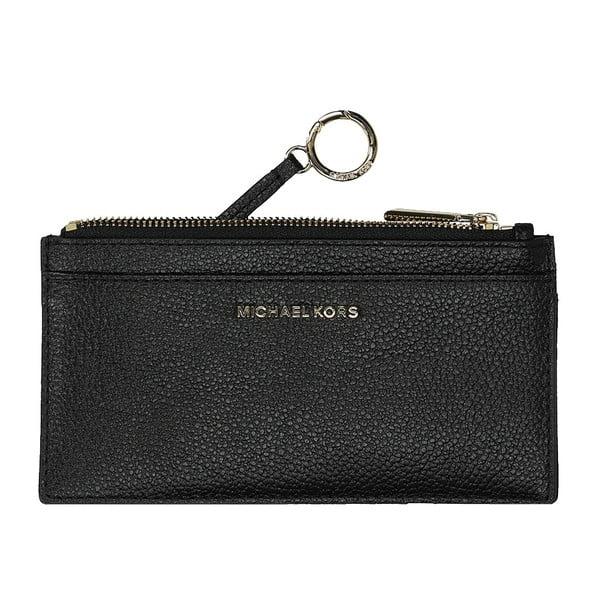 Čierna kožená peňaženka Michael Kors Nova