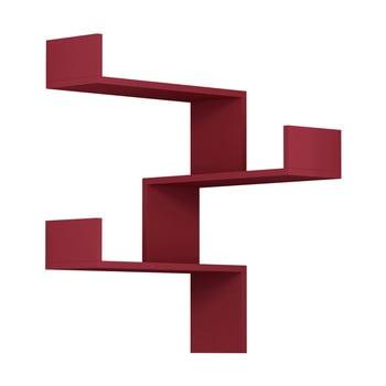 Raft de perete Luksa, roșu de la Homitis