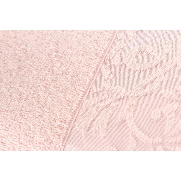 Sada 2 ručníků Burumcuk Pink, 50x90 cm