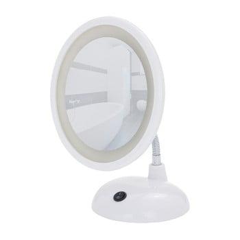 Oglindă cosmetică albă cu LED Wenko Style