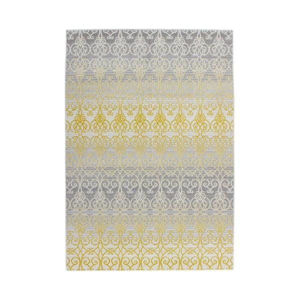 Koberec Fusion 160x230 cm, žlutý