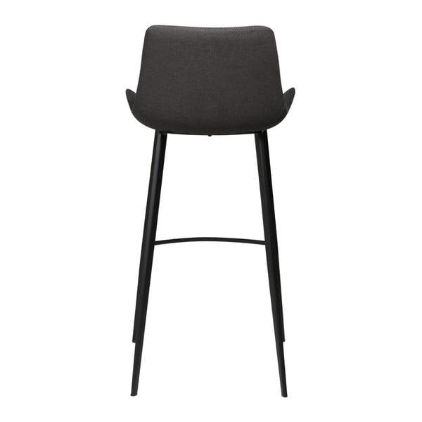 Antracitově šedá barová židle DAN-FORM Denmark Hype