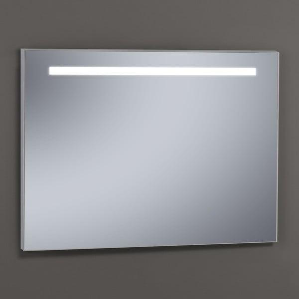 Zrcadlo s LED osvětlením Miroir, 80x100 cm