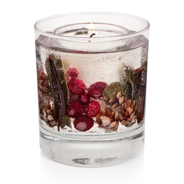 Svíčka Botanical 15 hodin hoření, červený rybíz a brusinka