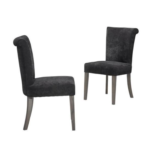 1 židle Verona Black