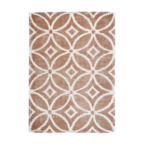 Ručně vyráběný koberec The Rug Republic Waiko Taupe, 240 x 300 cm