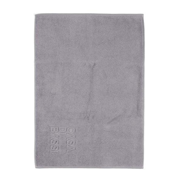 Sivá bavlnená kúpeľňová predložka CasaDiBassi Basic, 50×70cm