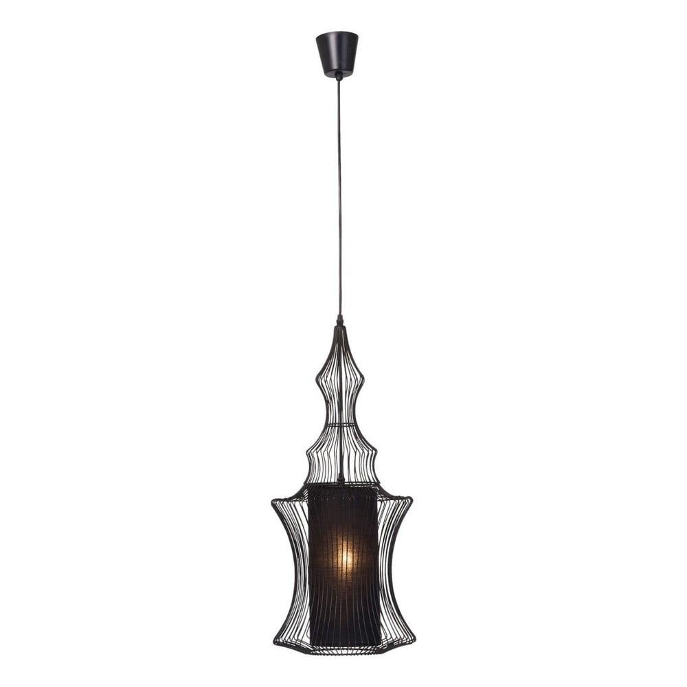 Černé stropní svítidlo Kare Design Swing Zylinder