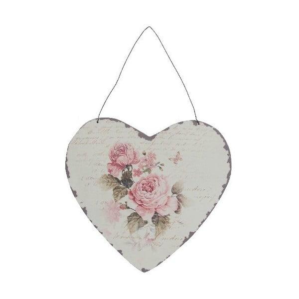 Dekorativní závěsné srdce Antic Line Antic Heart