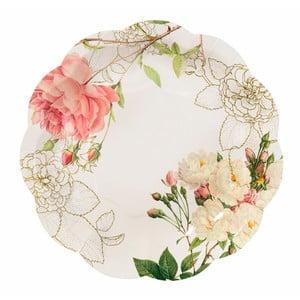 Sada 12 papírových talířů Talking Tables Blossom