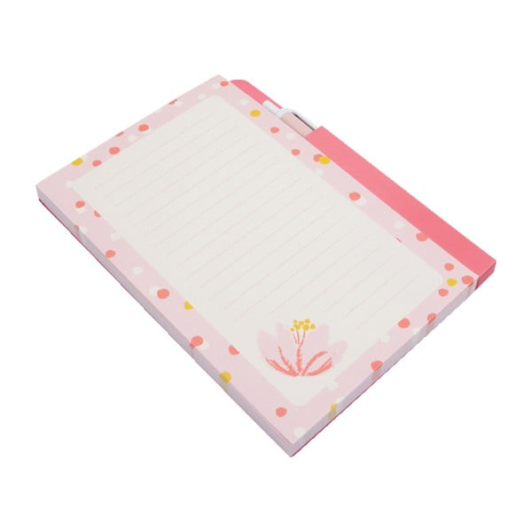 Bloc notes-uri magnetice cu stilou Busy B Pinky