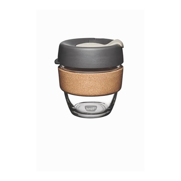Cestovný hrnček s viečkom KeepCup Brew Cork Edition Press, 227 ml