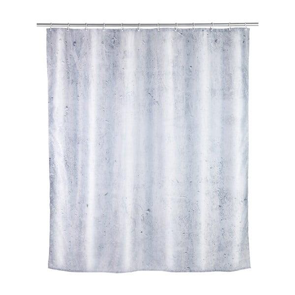 Perdea de duș Wenko Concrete, 180 x 200 cm