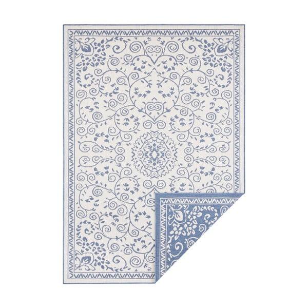 Modro-krémový venkovní koberec Bougari Leyte, 160 x 230 cm