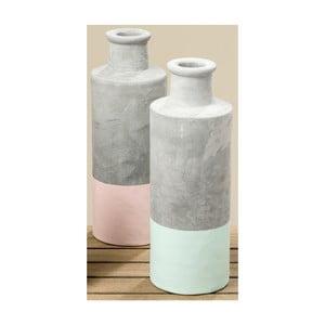 Sada 2 betonových váz Boltze Lou