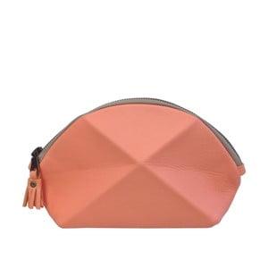 Psaníčko/kosmetická taška Pyramid, korálová