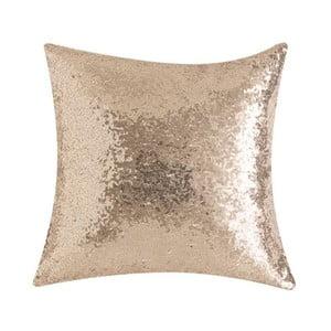 Béžový polštář s flitry Bella Maison Diamond, 50 x 50 cm
