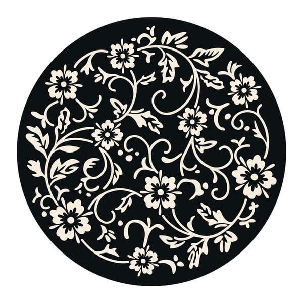 Samolepky Flower mandala Black/White