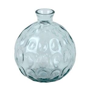 Skleněná váza z recyklovaného skla Ego Dekor Dune, výška 18 cm