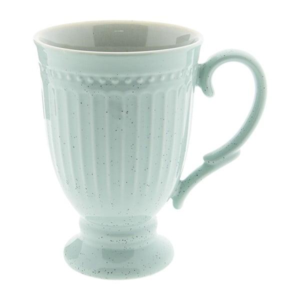 Mátově zelený porcelánový hrnek Clayre&Eef, 300ml