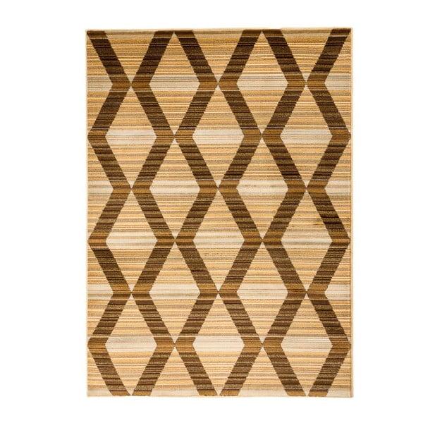 Hnědý vysoce odolný koberec Floorita Inspiration Turo, 80 x 150 cm