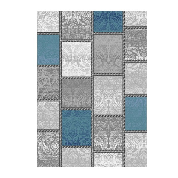Koberec Kirman Blue, 80x150 cm