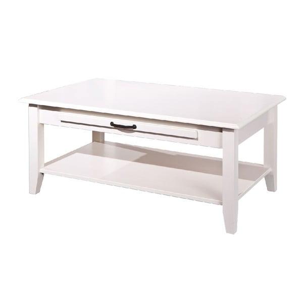 Bílý dřevěný konferenční stolek 13Casa Lossa