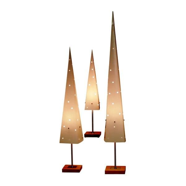Svítící kužel se stojanem Best Season Cone Top, 60 cm