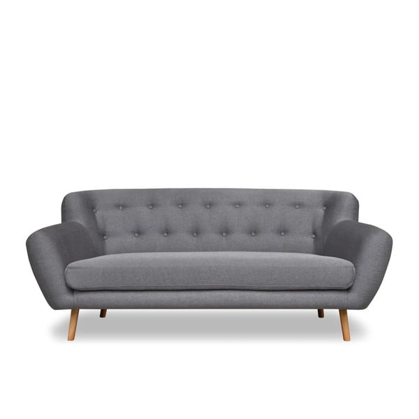 Szara sofa 3-osobowa Cosmopolitan design London
