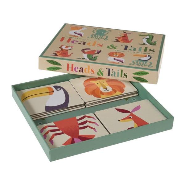 Obrázkové hrací kartičky se zvířátky Rex London Colourful Creatures