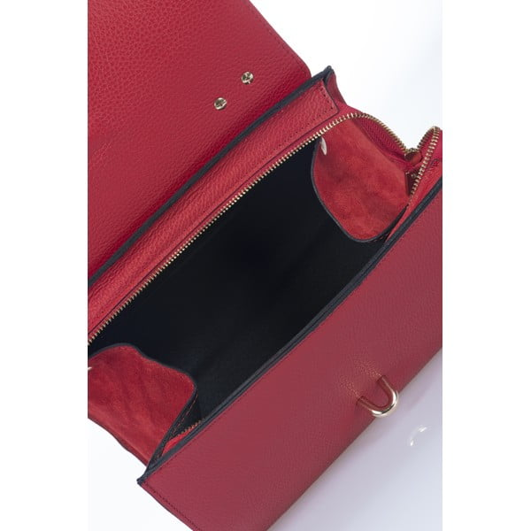 Kožená kabelka Markese 5258 Red