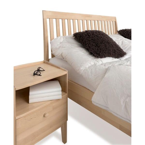 Ručně vyráběná dvoulůžková postel z masivního březového dřeva Kiteen Matinea, 160x200cm