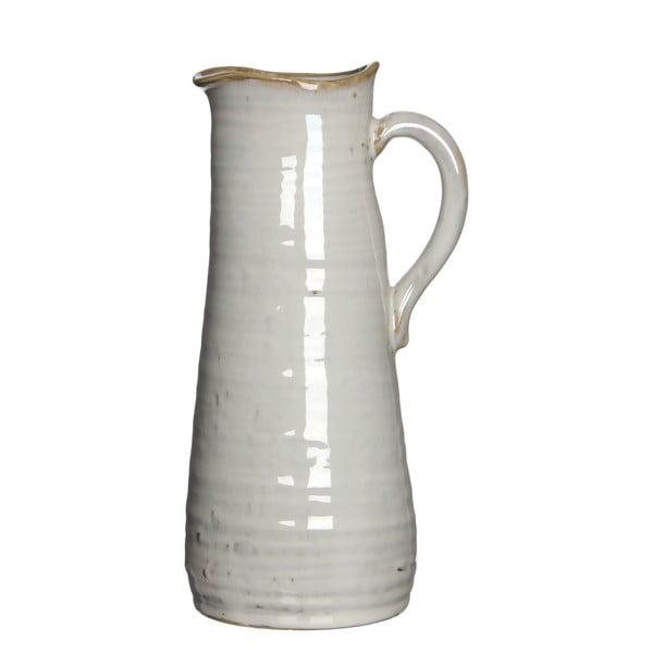 Keramická váza/džbán June Cream, 25 cm