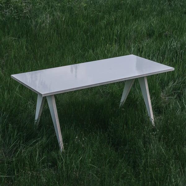 Jídelní/pracovní stůl ST, délka 180 cm, bílý
