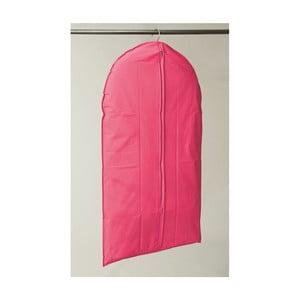Růžový závěsný obal na šaty Compactor Garment, délka137cm