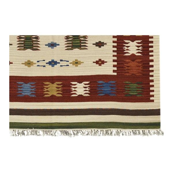 Ručně tkaný koberec Kilim Aladin, 95x155cm