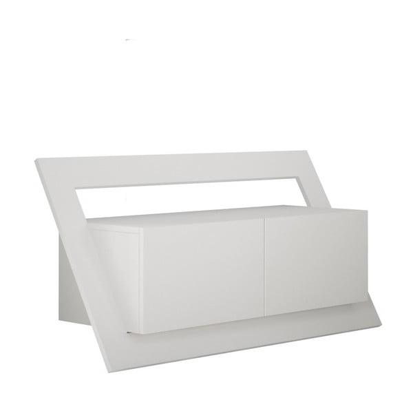 Biała szafka pod TV Homitis Kayt