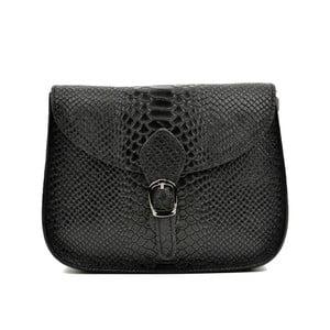 Černá kožená kabelka Luisa Vannini Lorelai