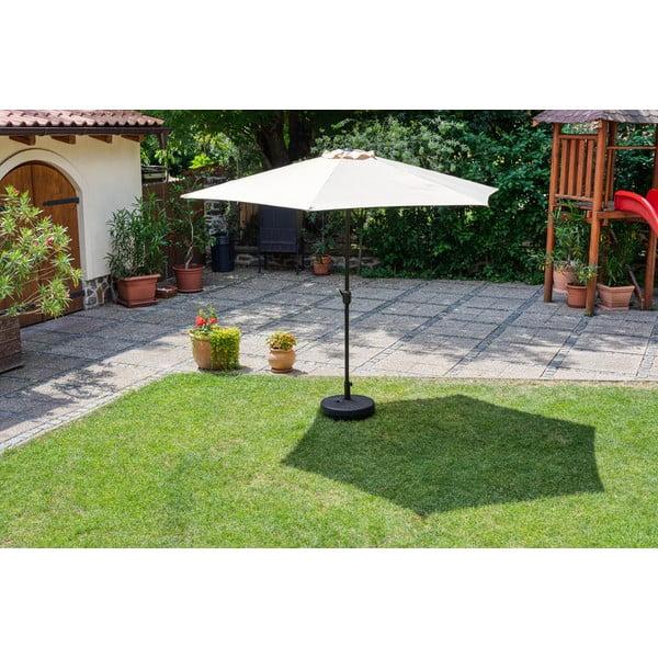 Umbrelă de soare de grădină Timpana Parasol, maro cappucino