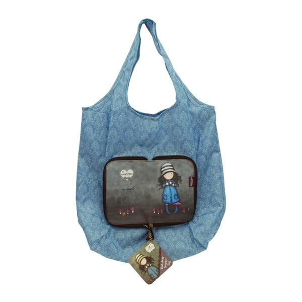 Skladacia nákupná taška Santoro London Gorjuss toadstools