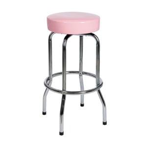 Stolička Bar Metal Pink, 47x47x75 cm