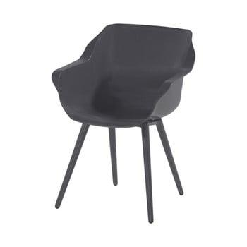 Set 2 scaune de grădină Hartman Sophie Studio, gri închis