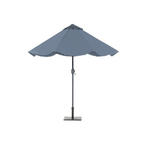 Umbrelă de grădină cu lumini LED Monobeli Shining, gri închis