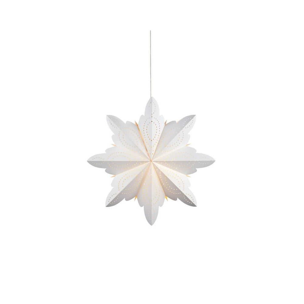 Alsko závěsná svítící dekorace alsko, bílá | bonami