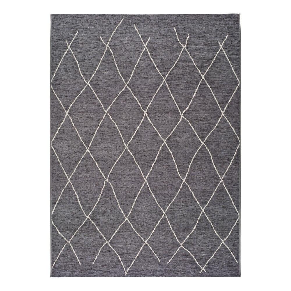 Šedý venkovní koberec Universal Sigrid, 57 x 110 cm