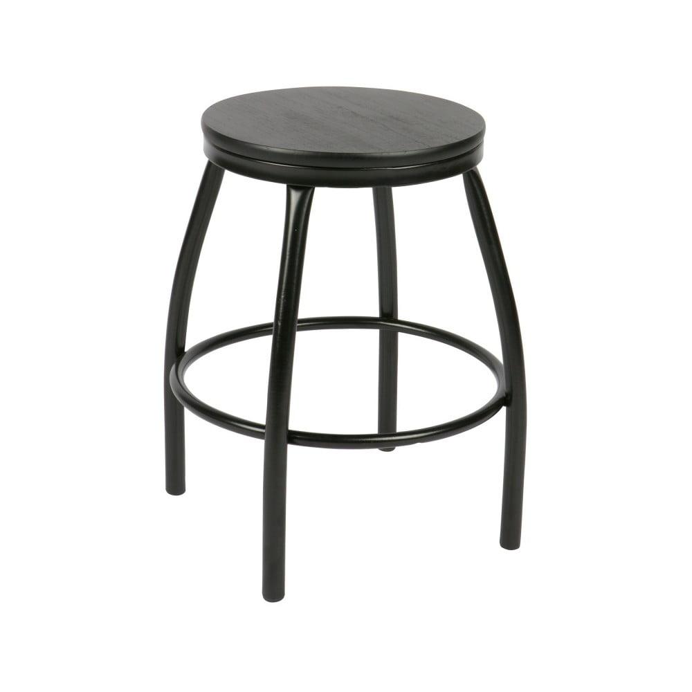 Černá stolička De Eekhoorn Nomi
