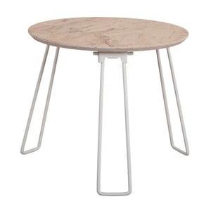 Bílý příruční stolek Zuiver Side