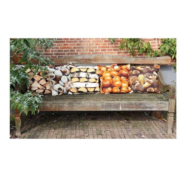 Polštář Wood Fireplace 35x50 cm