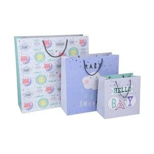 Sada 3 dárkových tašek Tri-Coastal Design Hello Baby